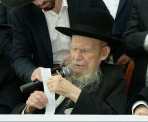 הגאון רבי גרשון אדלשטיין - באדיבות המצלם