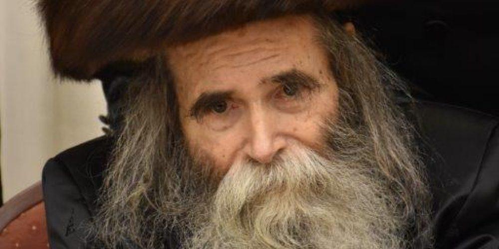 הרב שאול ברייז - צילום יהודה פרקוביץ